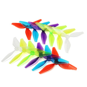 10 Pairs Racerstar Fish Bone 5041 3 Blade Racing Propeller for Racing