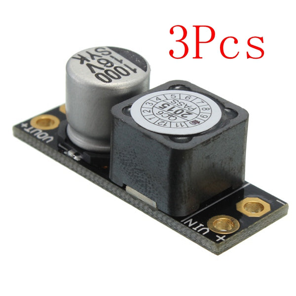 3Pcs L-C Power Filter-2A RTF Lc Filter (3AMP 2-4S) LC Module Lllustrated Eliminate Moire Signal Filtering