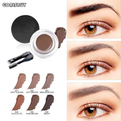 Eyebrow Cream With Brow Brush Tools (6 Colors to choose)