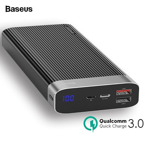 Quick Charge 3.0 Power Bank withType C  (20000mAh)