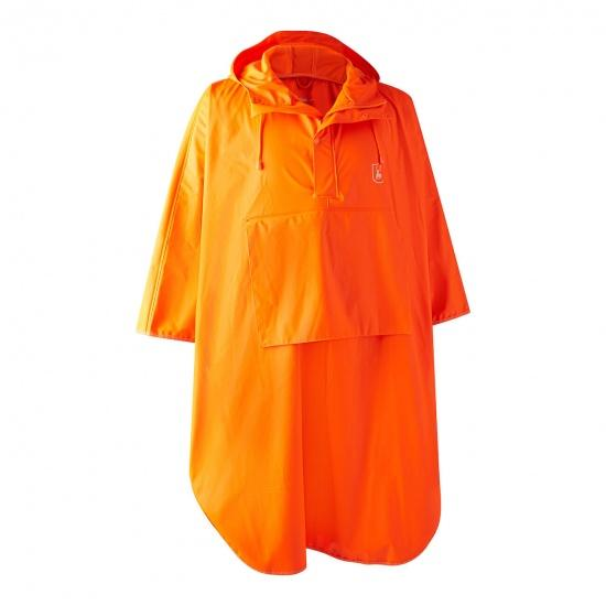 Deerhunter - Hurricane Regnponcho Regnponcho Deerhunter M / L / XL Orange