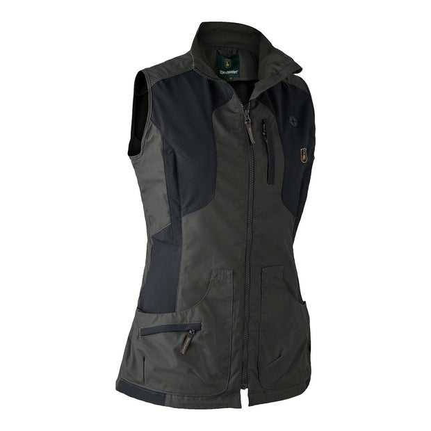 Deerhunter - Lady Ann Vest Jagtveste Deerhunter 36 Black Ink