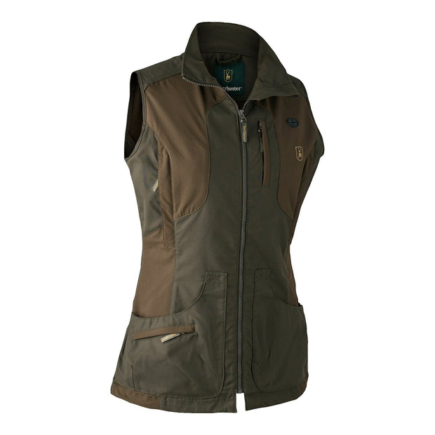 Deerhunter - Lady Ann Vest Jagtveste Deerhunter 36 Deep Green