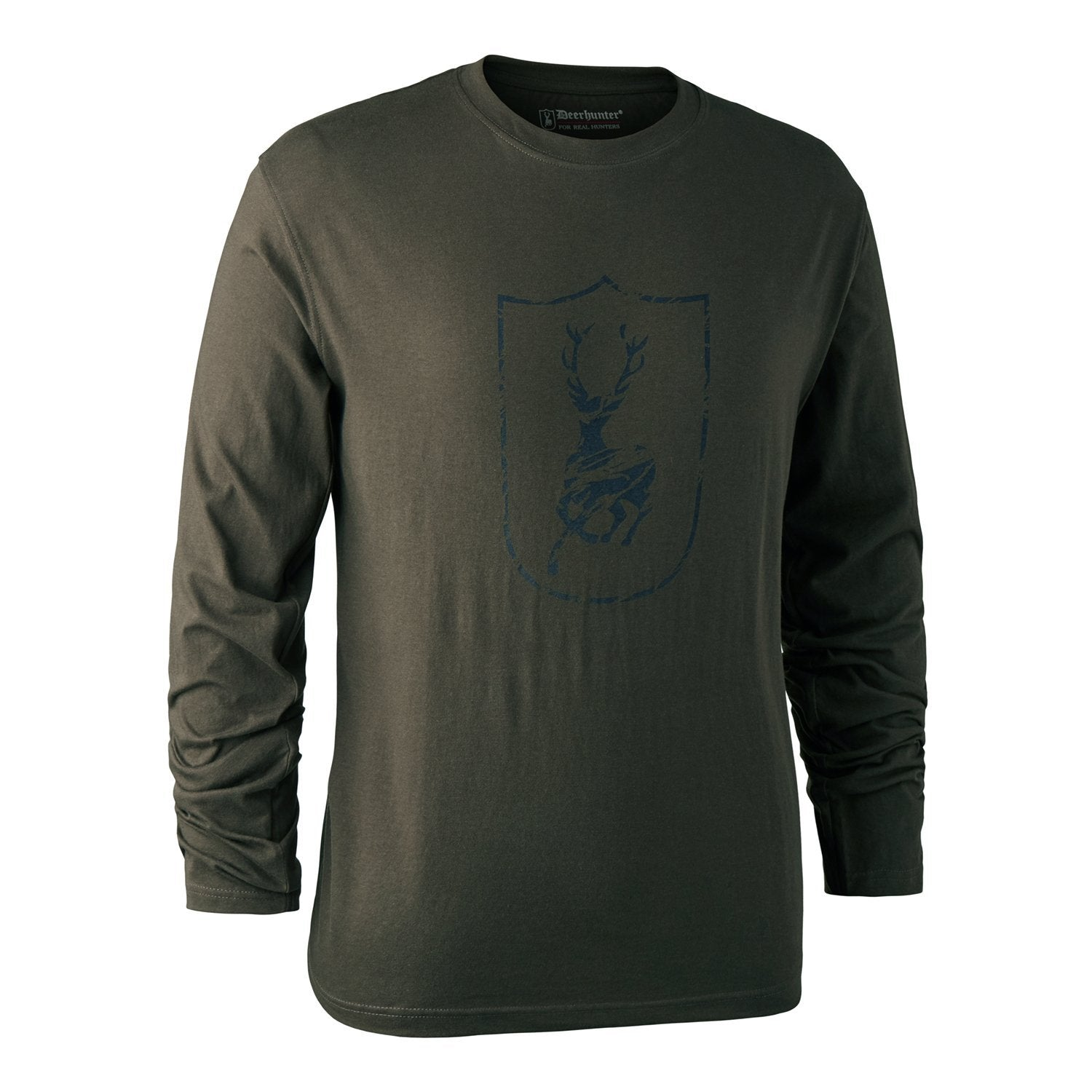 Image of   Deerhunter - Langærmet Logo T-Shirt