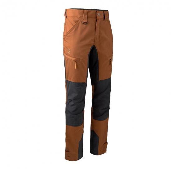 Deerhunter - Rogaland Stretch Bukser Kontrast Outdoor bukser Deerhunter 48 Burnt orange