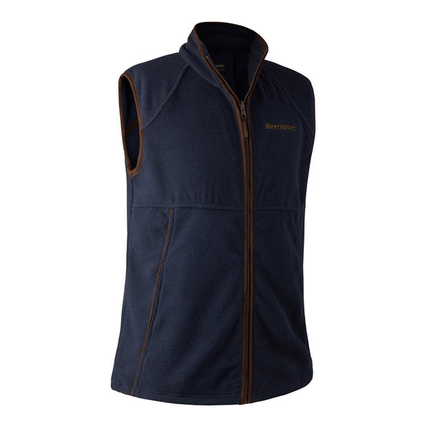Deerhunter - Wingshooter Fleece Vest Jagtveste Deerhunter S Graphite Blue