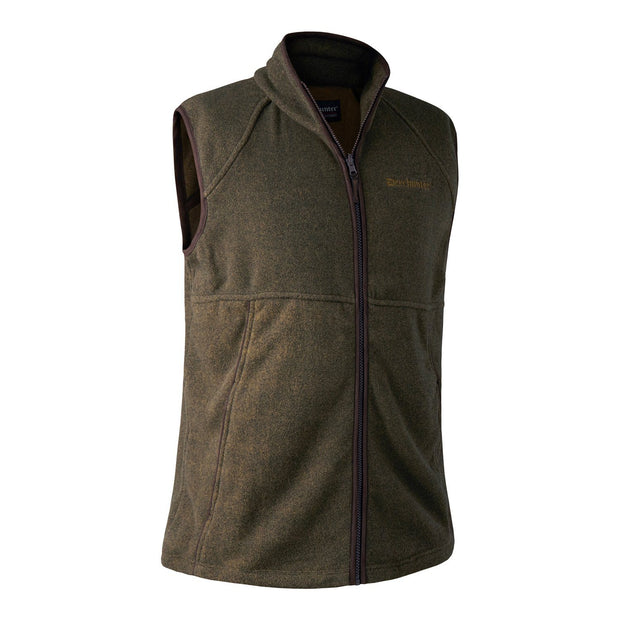 Deerhunter - Wingshooter Fleece Vest Jagtveste Deerhunter S Graphite Green