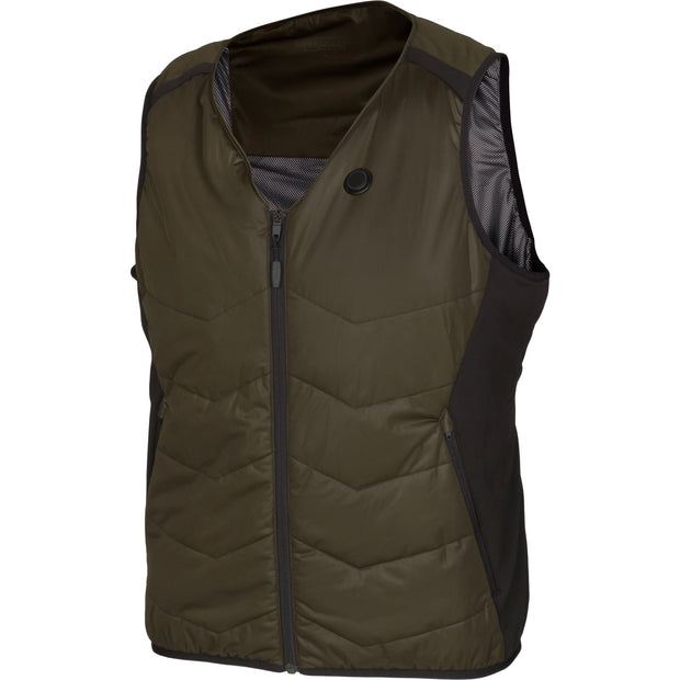Härkila Heat v-hals vest Jagtvest / Outdoor vest Härkila Willow green/Black XS