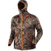 Moose Hunter fleece jakke Fleece / fleecetrøje Härkila MossyOak®Break-Up Country®/MossyOak®OrangeBlaze S