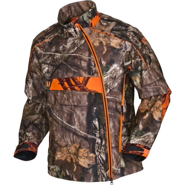 Moose Hunter HSP jakke Jagtjakke / Outdoor jakke / Jagttøj Härkila MossyOak®Break-Up Country®/MossyOak®OrangeBlaze M