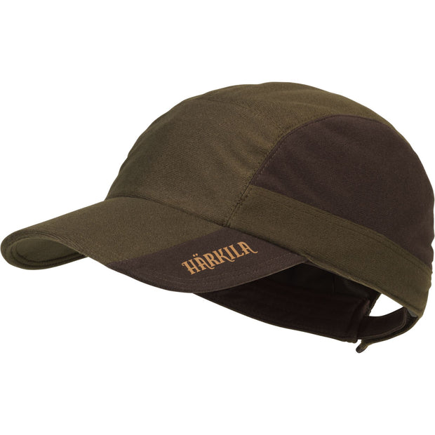 Mountain Hunter cap Jagtkasket Härkila Hunting green/Shadow brown One size
