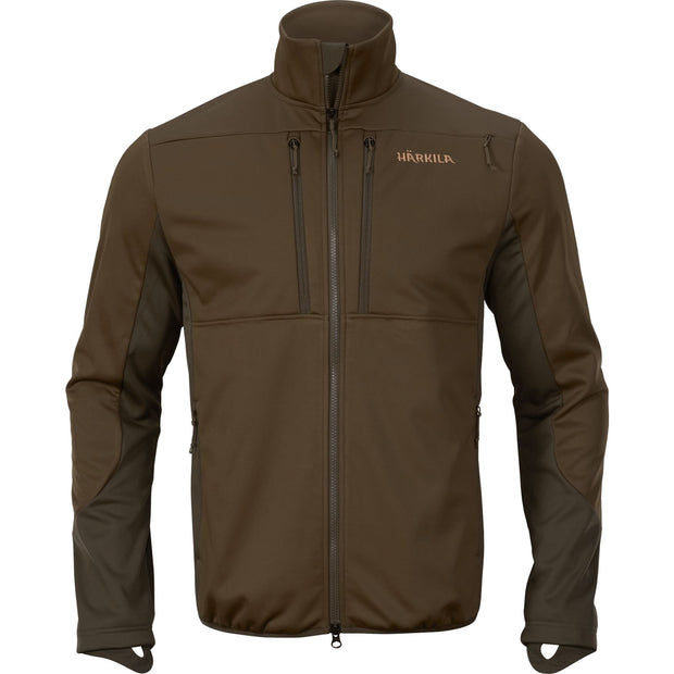 Mountain Hunter Pro WSP fleece Fleece / fleecetrøje Härkila Hunting green/Shadow brown S