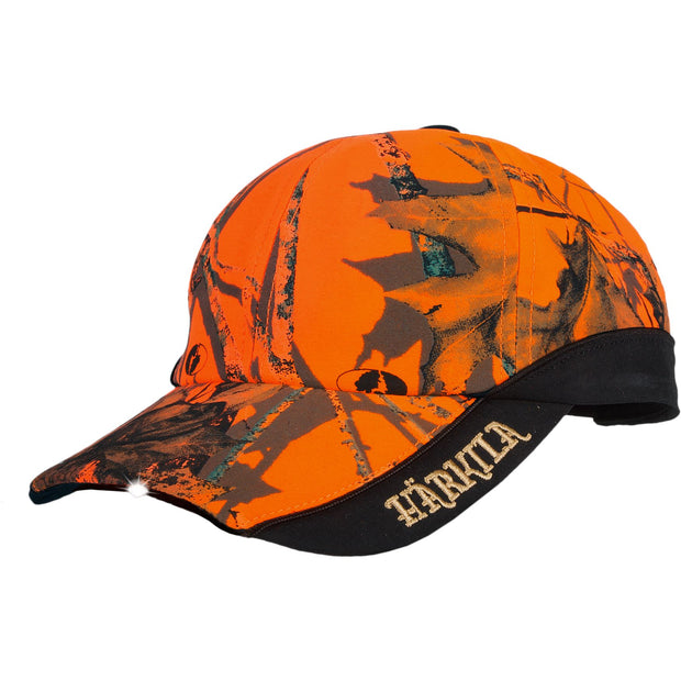 Safety Light cap Jagtkasket Härkila Mossy Oak® Orange Blaze One size