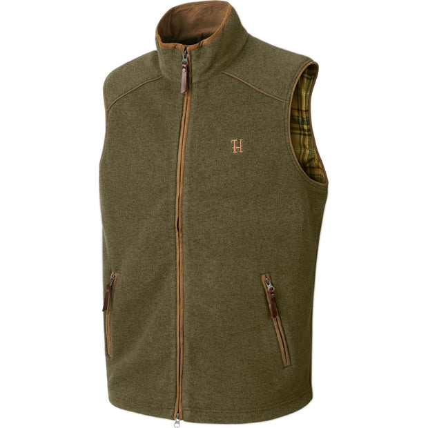 Sandhem fleece vest Jagtvest / Outdoor vest Härkila Dusty lake green melange M