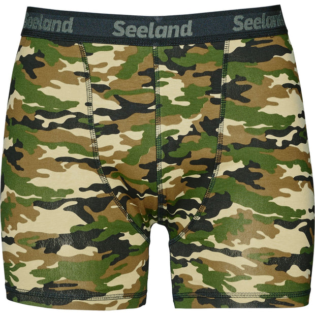 Seeland - Seeland 2 pack boxer shorts Jagtshorts / outdoor shorts Seeland Camo/Forest night M