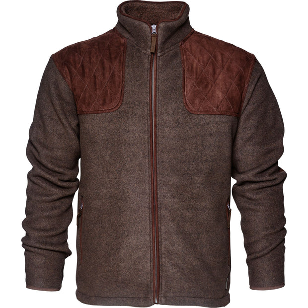 Seeland - William II fleece Fleece / fleecetrøje Seeland Moose brown S