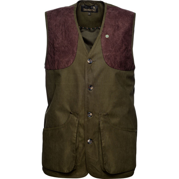 Seeland - Woodcock II vest Jagtvest / Outdoor vest Seeland Shaded olive 48