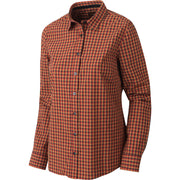 Selja Lady L/S Check skjorte Jagtskjorte / Outdoor skjorte Härkila Red/Black check S