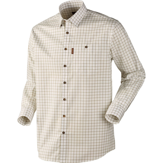 Stenstorp skjorte Jagtskjorte / Outdoor skjorte Härkila Bright olive check/ Button-under M