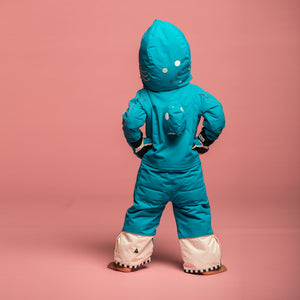 SHARKDO Hai Snowsuit and Gloves