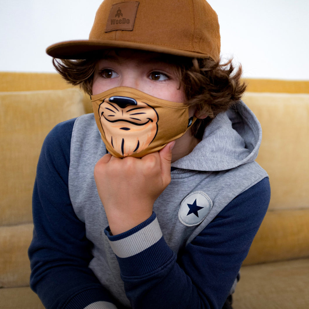 LIODO Lion Character Face Mask