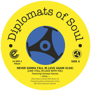 Diplomats of Soul  / Never Gonna Fall In Love Again / Like I Fell In Love With You