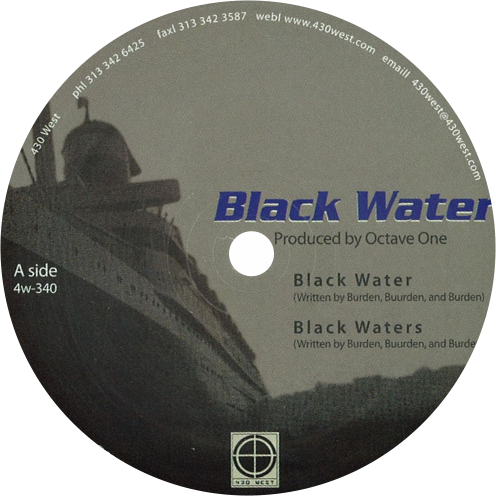 Octave One / Black Water - Luv4Wax