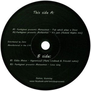 Manwoman / Eddie Matos / From Past To Future - Luv4Wax