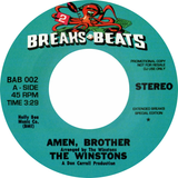 The Winstons / The Chosen Few  Amen, Brother / Candy I'm So Doggone Mixed Up (Clear Vinyl)