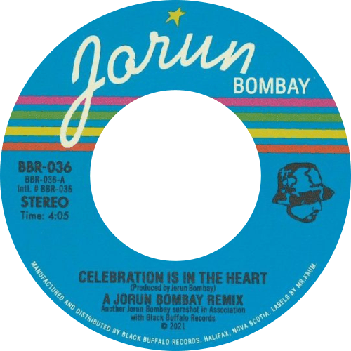Jorun Bombay ‎/ Celebration Is In The Heart / Concrete Jungle Groove