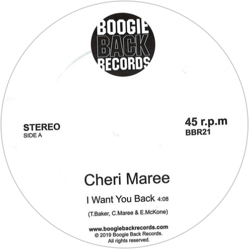 Cheri Maree ‎/ I Want You Back