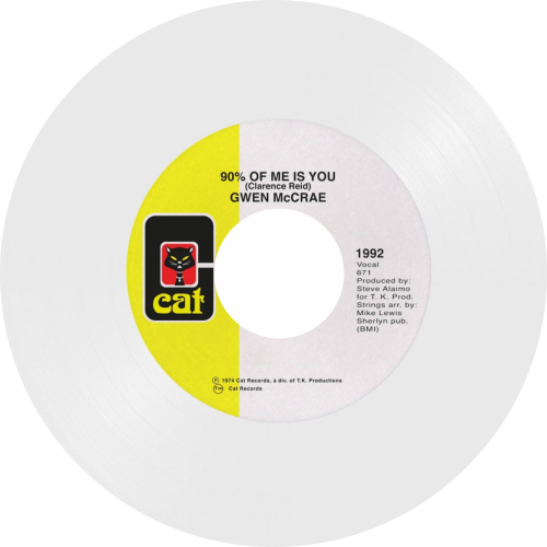 Gwen Mccrae  / 90% Of Me Is You (White Vinyl Repress)