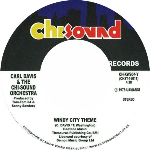 Carl Davis & The Chi-Sound Orchestra / Windy City Theme / Show Me The Way To Love - Luv4Wax