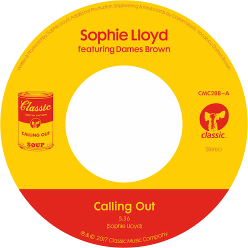 Sophie Lloyd Featuring Dames Brown / Calling Out - Luv4Wax