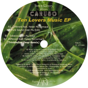 Caruso / Ten Lovers Music EP - Luv4Wax