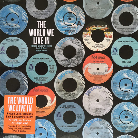 Holland-Dozier-Holland / The World We Live In - Luv4Wax