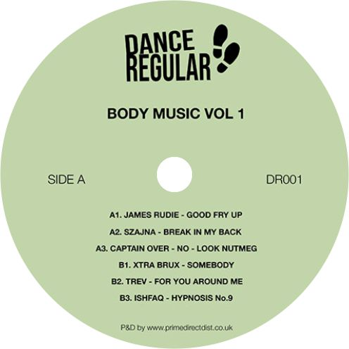 Various Artists / Body Music Vol. 1 EP - Luv4Wax