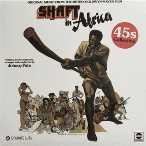 Johnny Pate ‎/ Shaft In Africa / 45s Collection