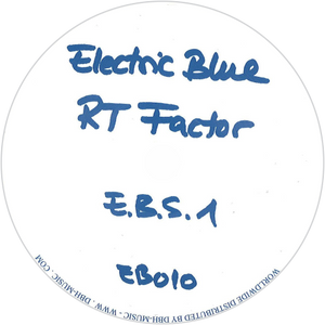 RT (Ron Trent) Factor / E.B.S. 1 (Black Vinyl)