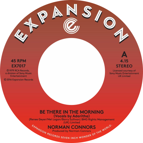 Norman Connors / Be There In The Morning / I Don't Need Nobody Else