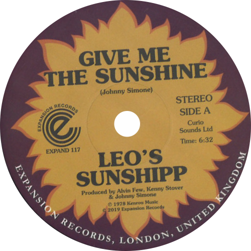 Leo's Sunshipp / Give Me The Sunshine / I'm Back For More