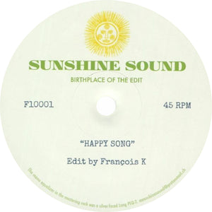 "Sunshine Sound / Happy Song (Limited 10"" Pressing!!)"