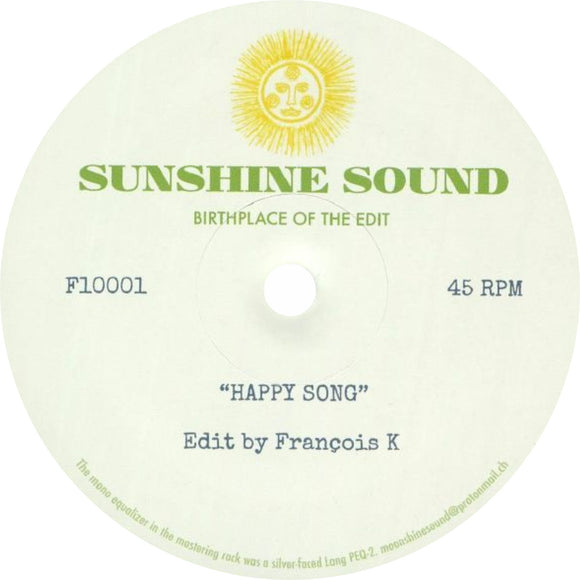 Sunshine Sound / Happy Song (Limited 10