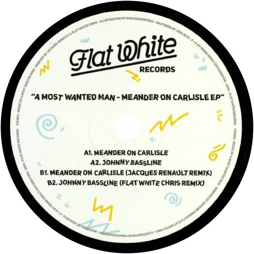 A Most Wanted Man / Meander On Carlisle EP - Luv4Wax