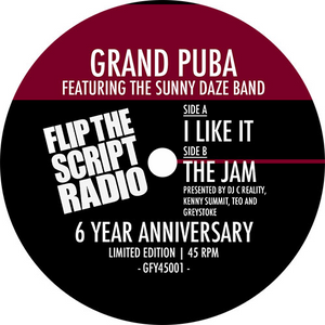 Grand Puba, The Sunny Daze Band ‎/ I Like It / The Jam