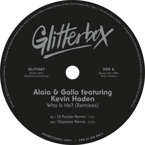 Alaia & Gallo Featuring Kevin Haden ‎/ Who Is He?