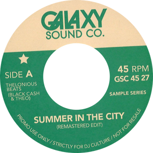 Quincy Jones / Jack DeJohnette ‎/ Summer In The City / Remastered Edit / Epilog