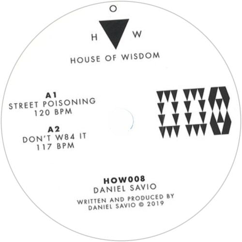 Daniel Savio / Street Poisoning - Luv4Wax