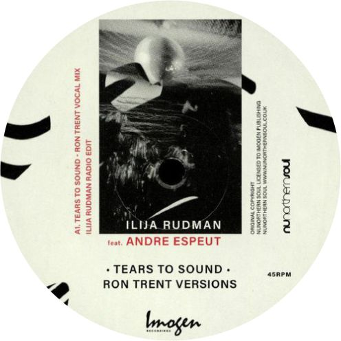 Ilija Rudman Feat Andre Espeut  / Tears To Sound (Ron Trent Versions) - Luv4Wax