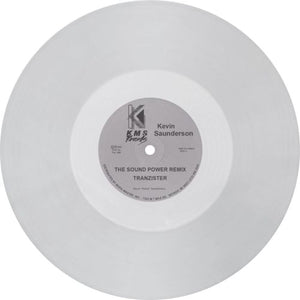 Kevin Saunderson / The Sound (Power Remix) / The Groove That Won't Stop (Clear Vinyl)